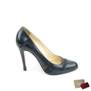 cb62077a666e Christian Louboutin Shoes - Thick Heel With Detail (EUR 38)